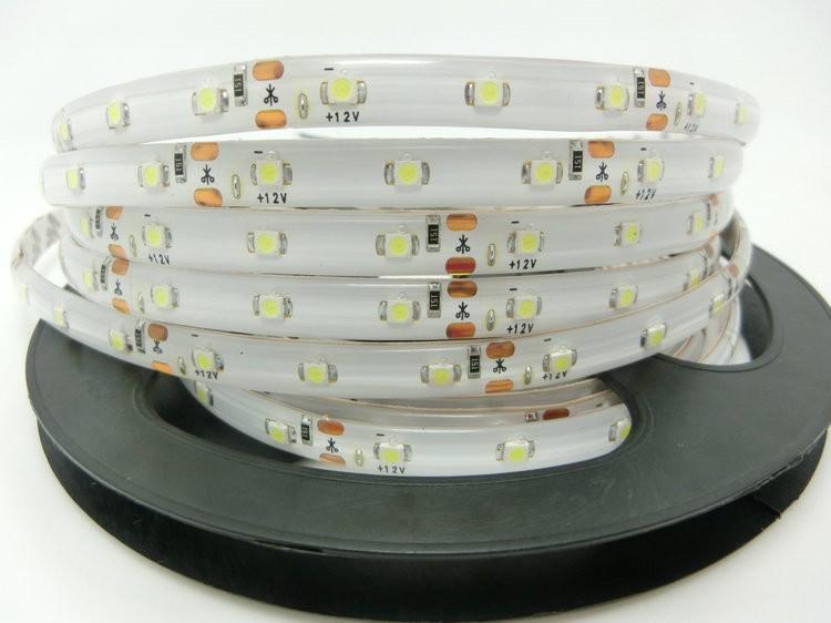 3528 SMD LED Strip Waterproof, 12V flexible light 60 led/m,white/white warm/blue/green/red