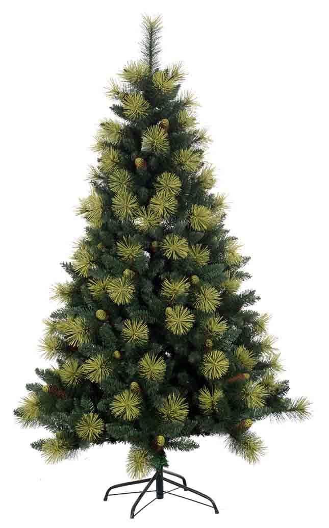 6ft hot sale golden pe needle artificial christmas tree