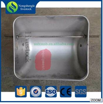 stainless steel feeder feeding trough fro sows