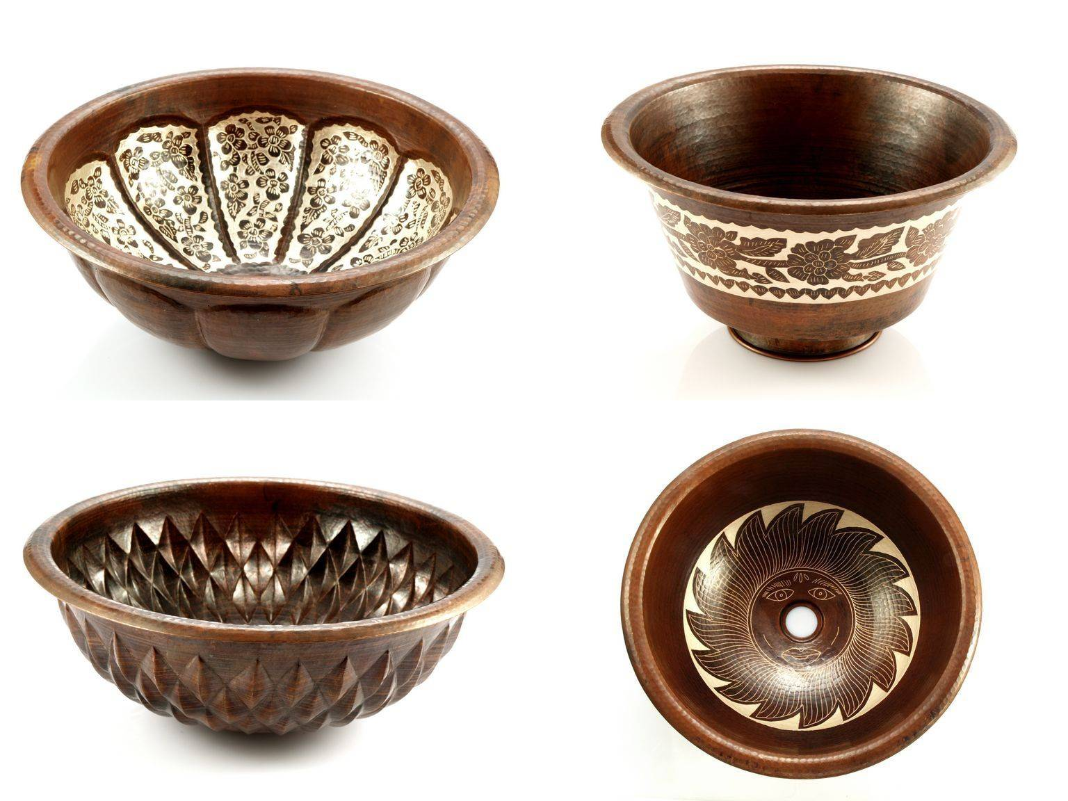 Great Mexican Copper Sinks