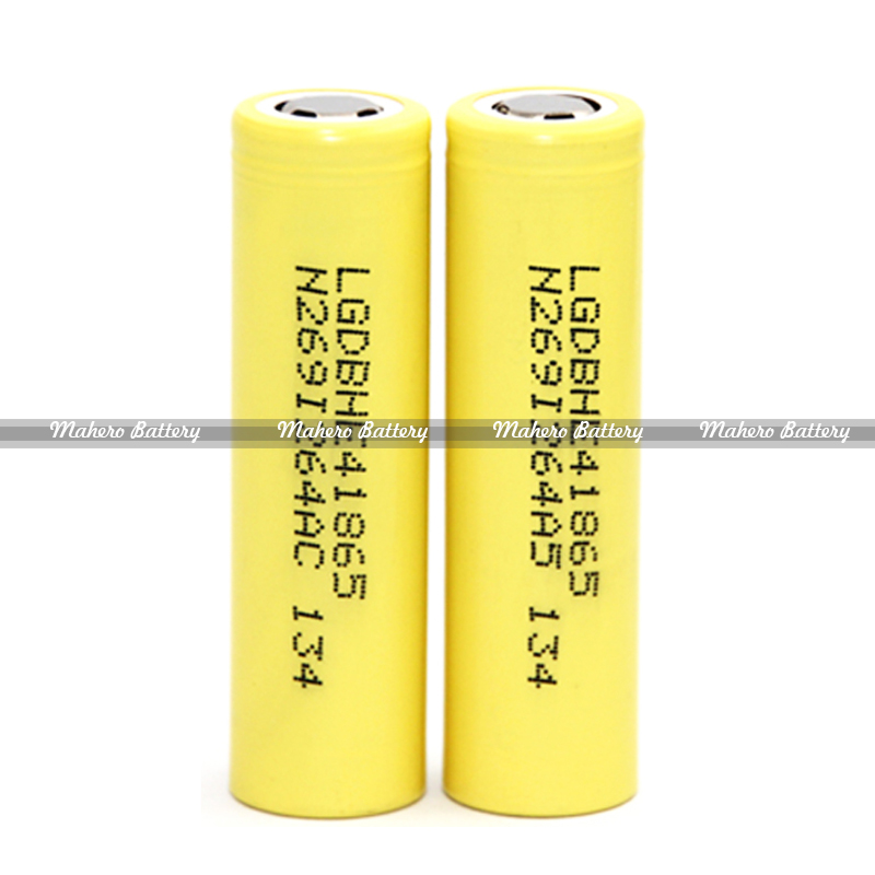 100% Authentic LG HE4 18650 Rechargeable Batteries 2500mah 20A 3.7V LG HE4 For E-cig