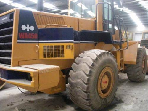 Used komastu wa450 wheel loader