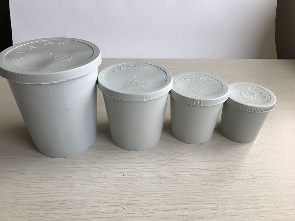 Plastic mixing cup for car painting
