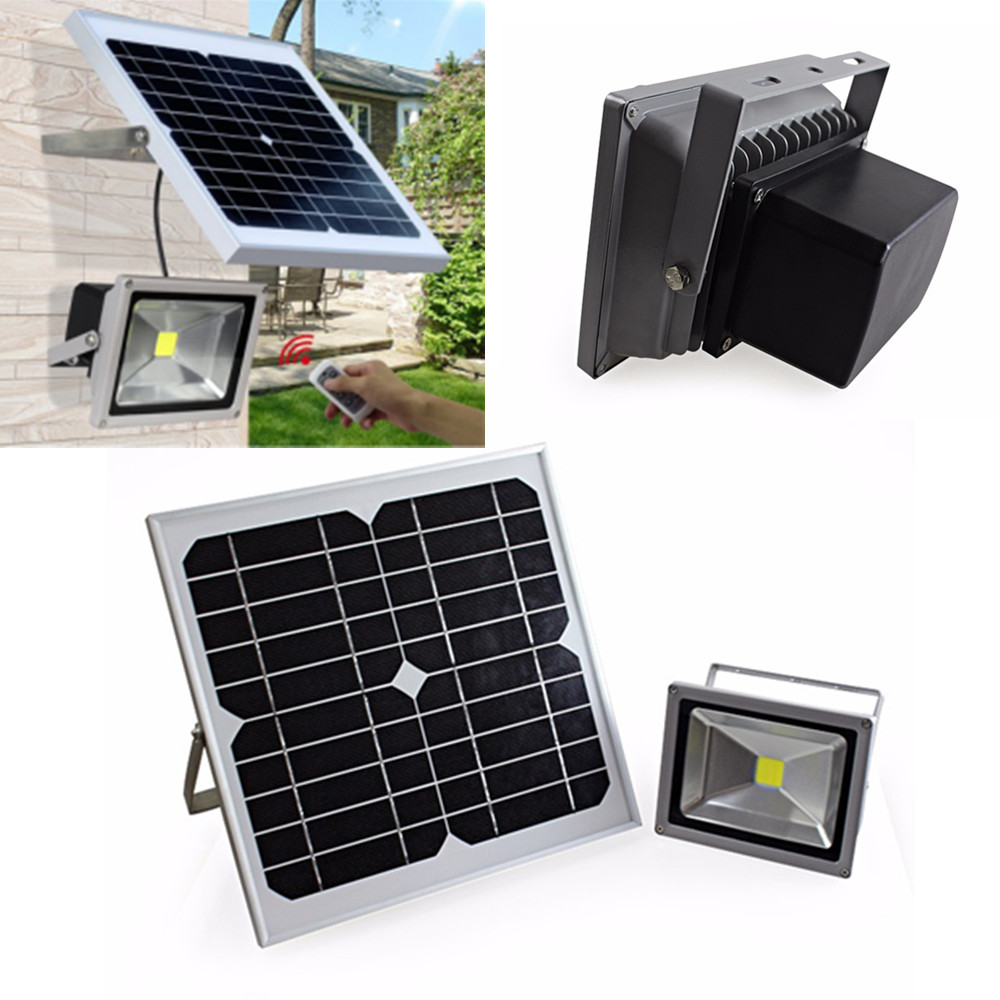 Hot-selling remote control outdoor solar led street light high bright solar flood lights