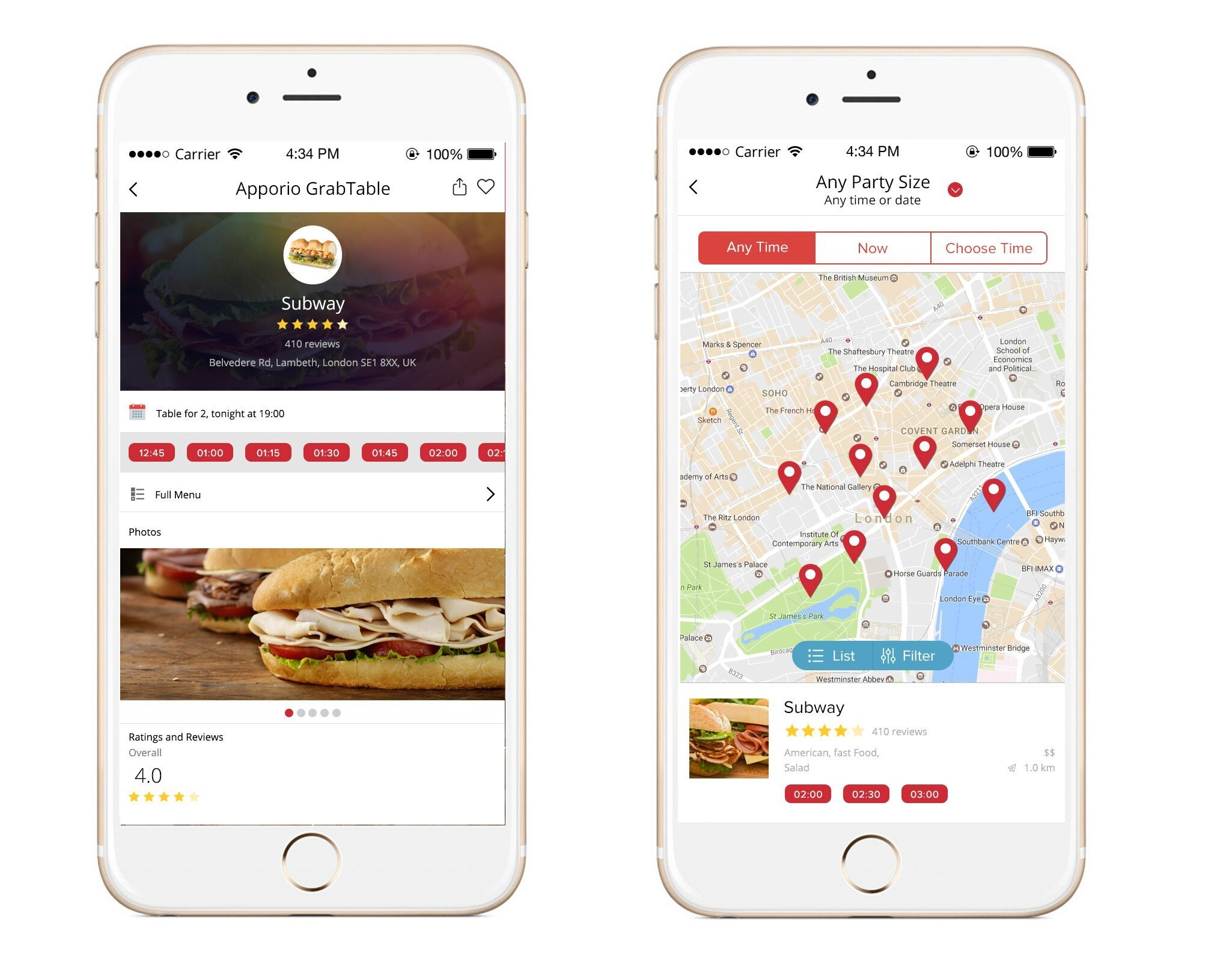 Apporio Restaurant App for Food Ordering and Delivery