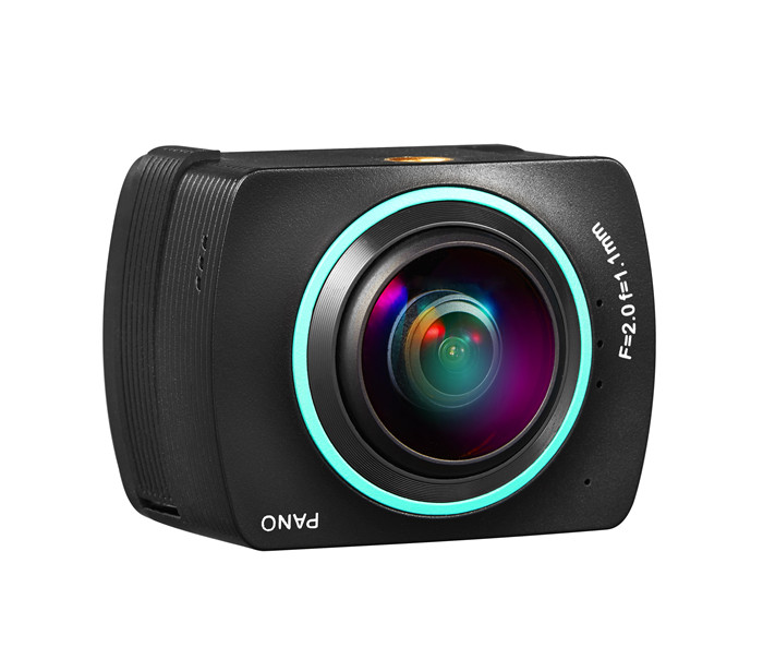2017 High quality hidden ip 360 degrees camera action camera