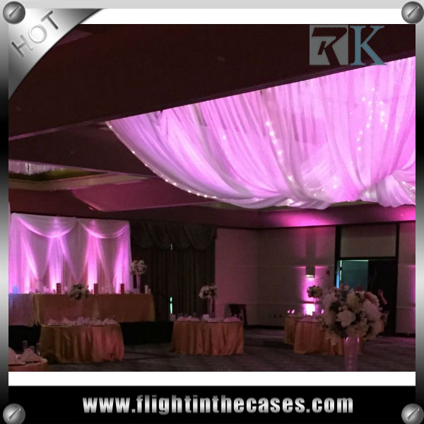 RK wholesale pipe and drape wedding decoration centerpieces