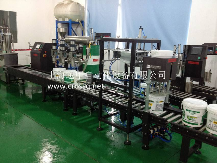 crossq filling production line projects