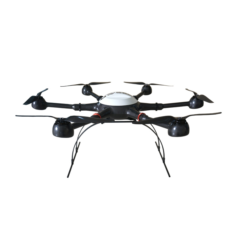 YD6-1000P Long Flight Time Waterproof Hexacopter Drone Multirotor Frame for UAVs