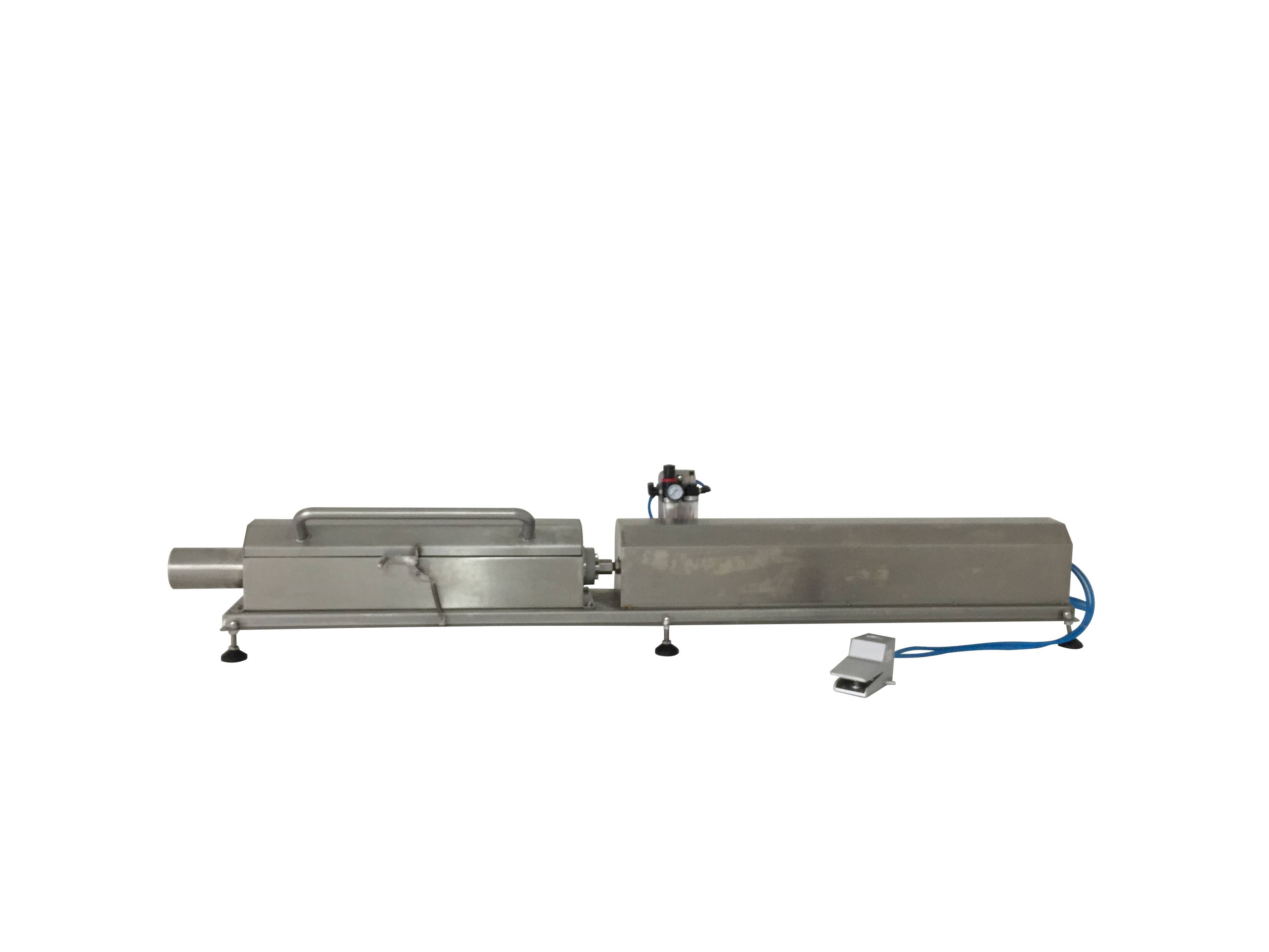 Simple Meat stuffer meat roll forming machine