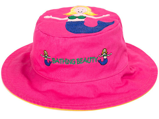Custom kids cute bucket hat UPF 50 Reversible Baby Infant Toddler Floral Bucket Hat With Chin Ties