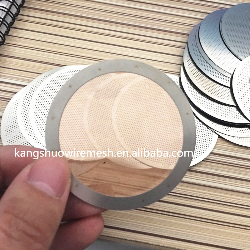 Reusable Metal Ultra Fine Coffee wire mesh filter disc Mesh Filter for AeroPress,Brew