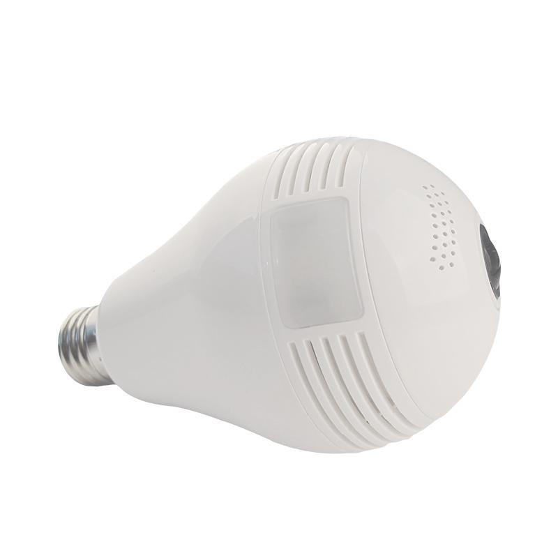 Fisheye 960P Light Bulb Wireless Lamp Mini Hidden Camera Security WIFI IP Camera