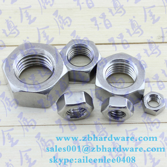 Factory price factory price hex nut din934