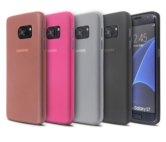 0.35mm Thickness Matte Surface PP Case For Samsung Galaxy S7