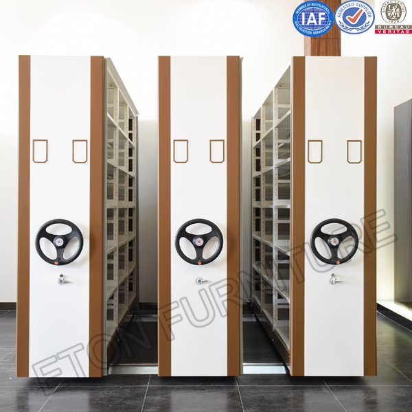 KD Structure Easy Operation Handle and Electrical Sliding Metal File Mass School Cabinet
