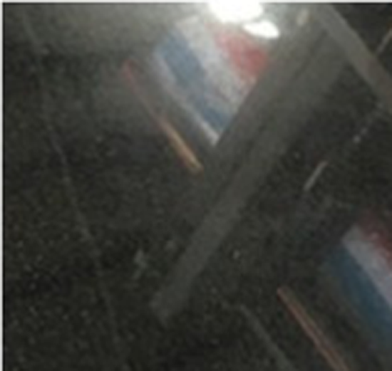 dyed black board granite with cheap price and high quality