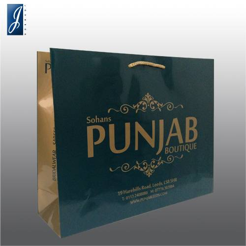 Customized big gift bag for PUNJAB