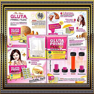 GLUTA PRIME PLUS 2,000,000MG. THE EXCELLENT NANO GLUTA (USA)