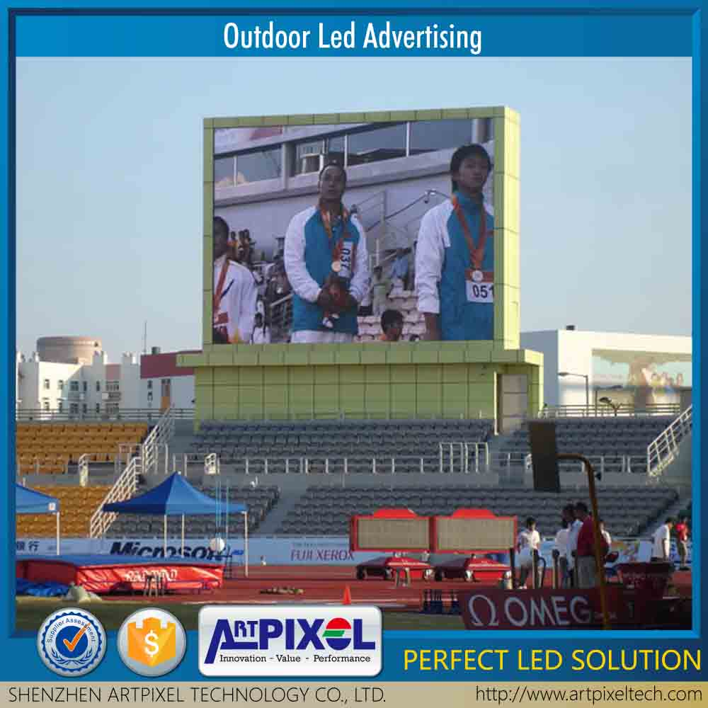 good quality hd full color ultra bright outdoor usage P10 led display