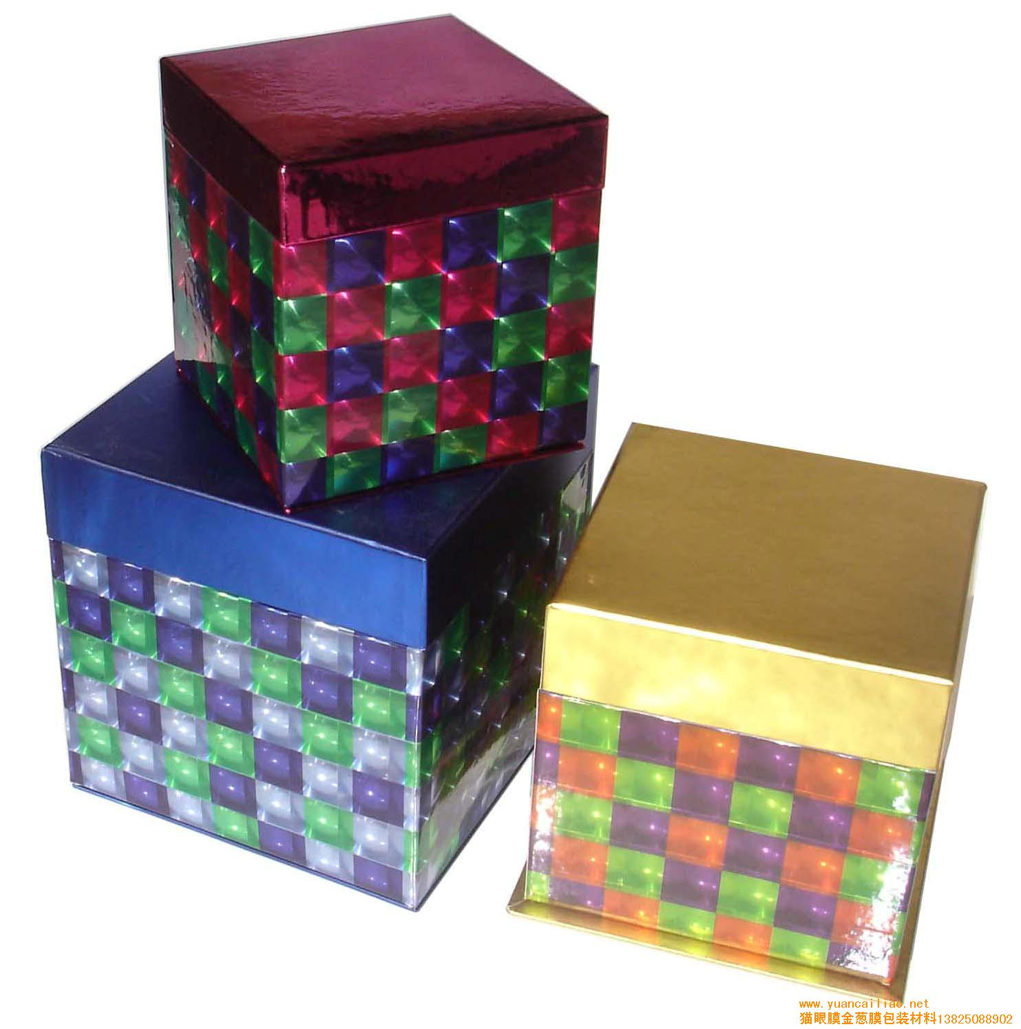 Custom Printed Holographic Christmas Design Wrapping Rolling Paper