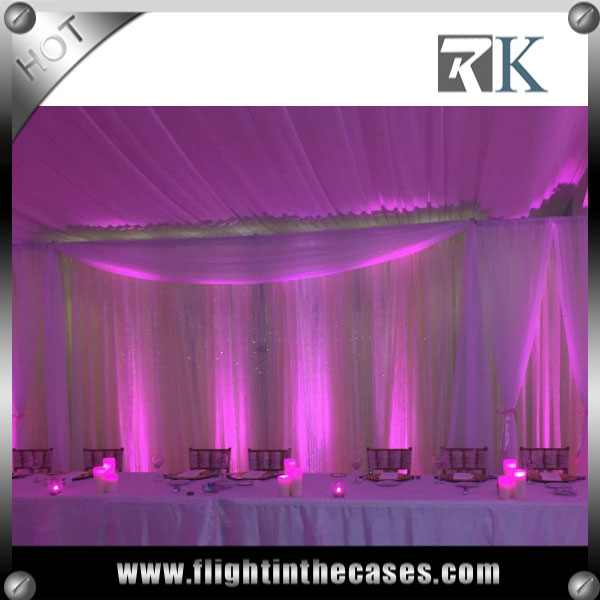 RK wholesale pipe and drape decoration for wedding