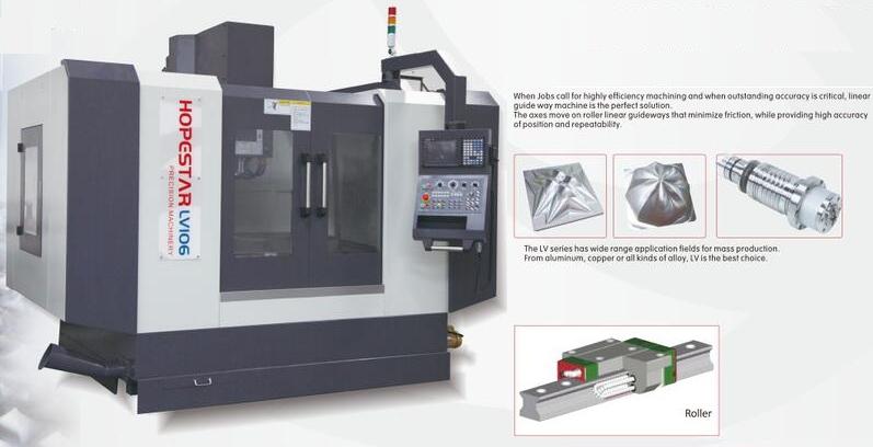 LV series best cnc machine center