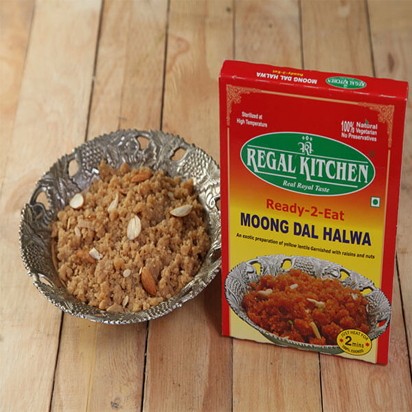 Ready To Eat Moong Dal Halwa
