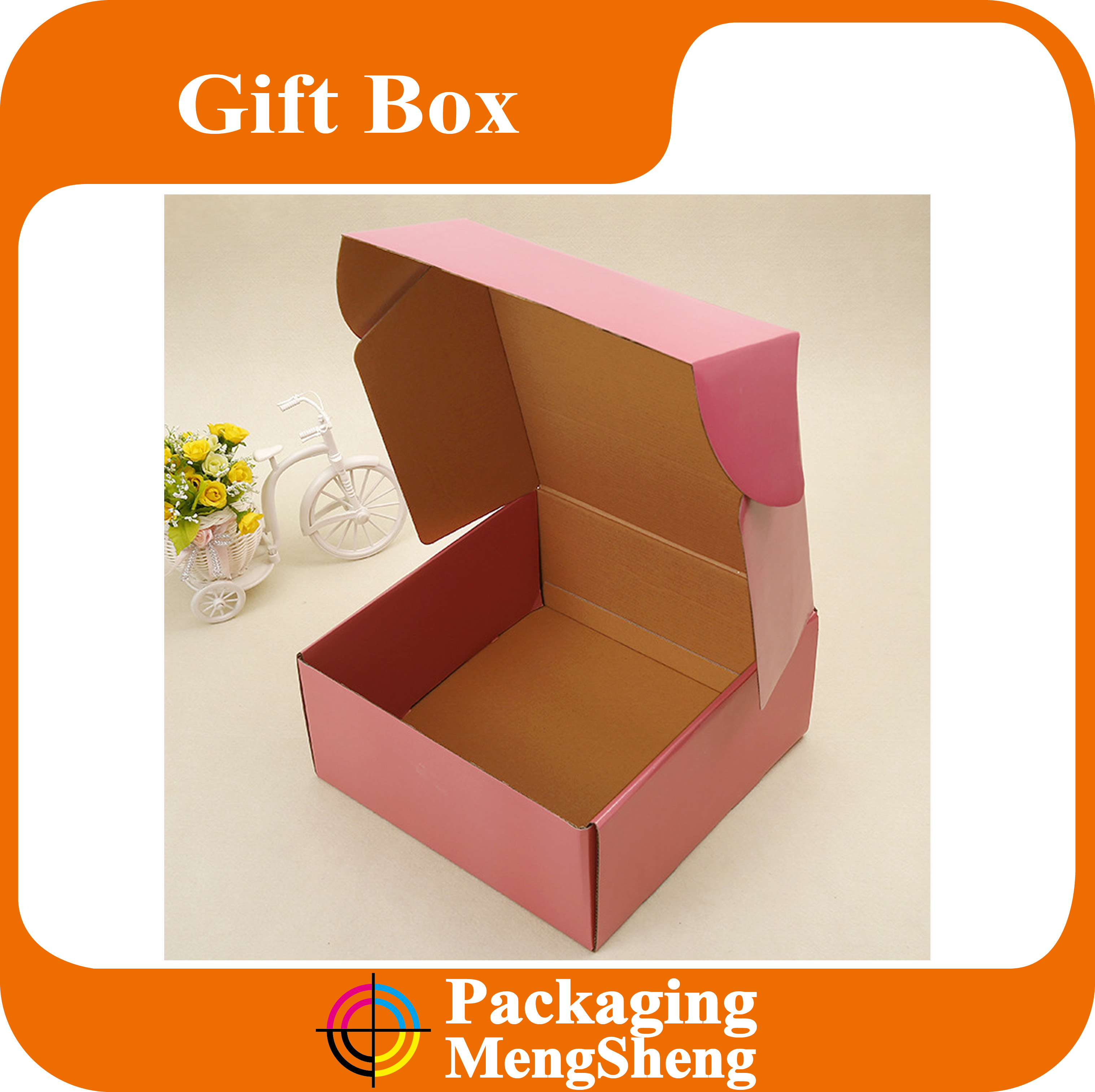 Wholesale Matte Black Corrugated Paper Mailing Box With Logo Print For shoe Box