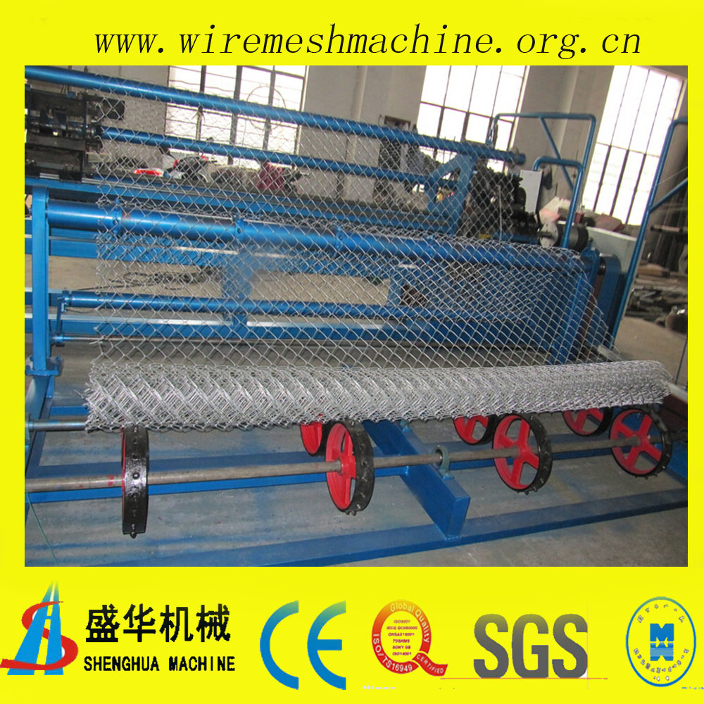 Automatic Chain Link Fence Machine(mesh size:25x25mm-100x100mm)