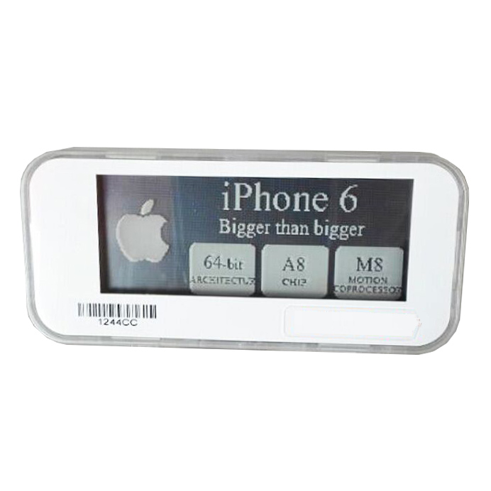 2.8inch Epaper Electronic Shelf Price Label Tag