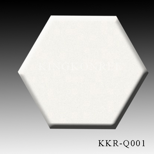 White Quartz Flooring Tiles 15-30mm thickness