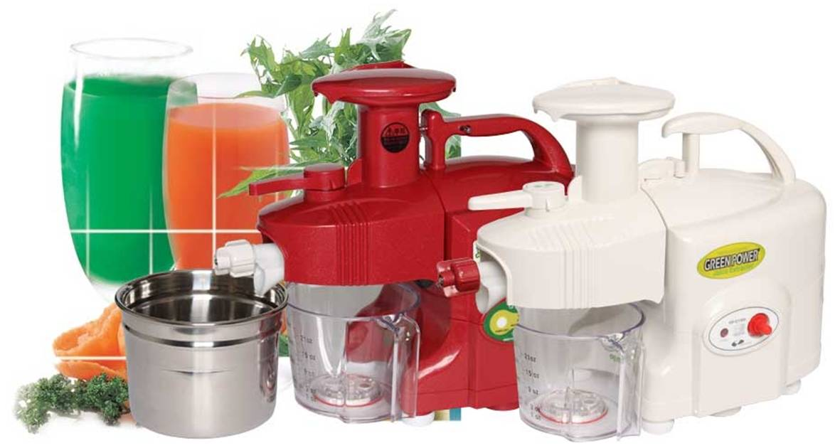 Slow Juicer For Leafy Greens : Green Power Slow Juicer_Juice Extractor (Twin Gear Type) - Mac Technology Co., Ltd. (Home ...