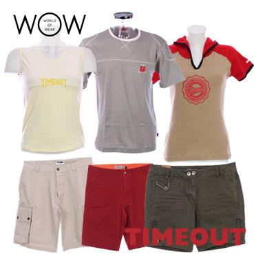 1 Eur/Pcs TIMEOUT clothes for men & women