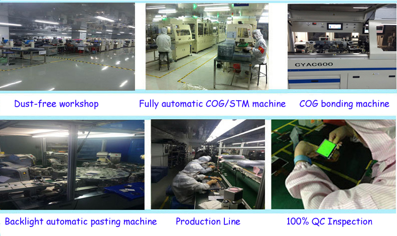 China low cost OEM tft lcd display manufacture