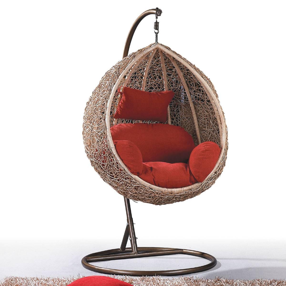 Outdoor Rattan Wicker Hanging Egg Chair Foshan Nanhai Yayi Furniture Factory