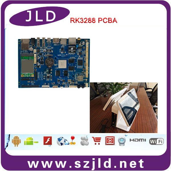 rk3288 android motherboard dual screen support 4k resolution 2g + 8g