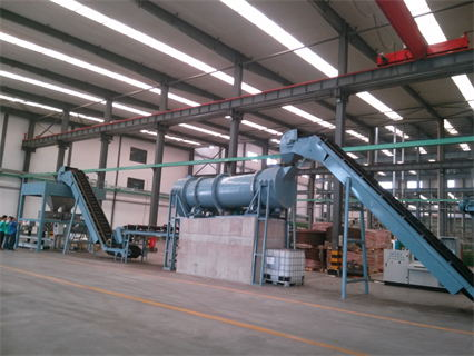 Belt-scale-batching Water Soluble Fertilizer Line