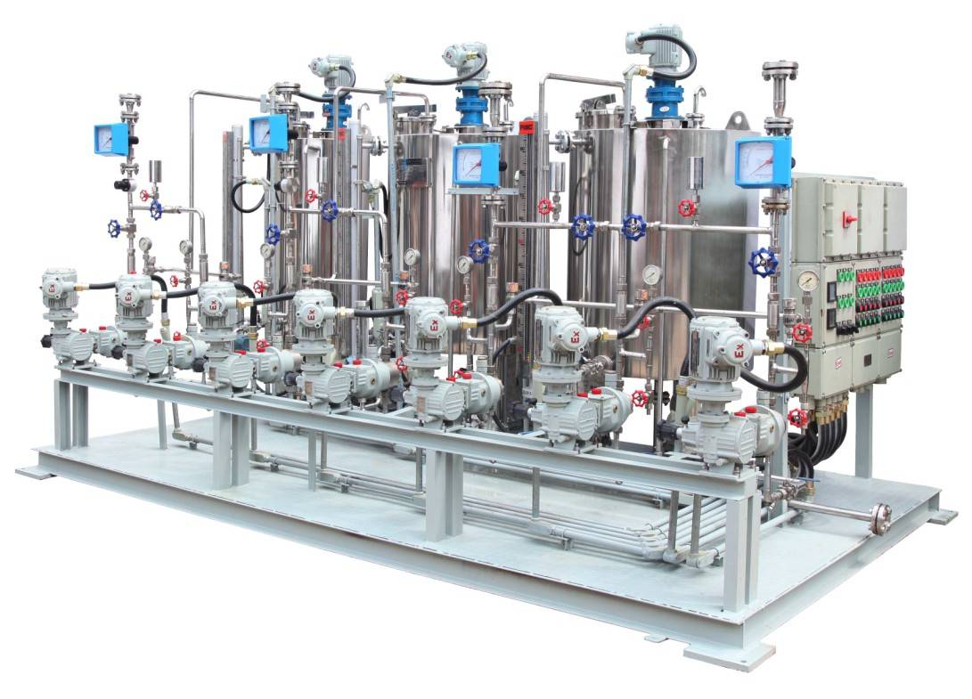 Chemical Injection Skid Chemical Injection Package