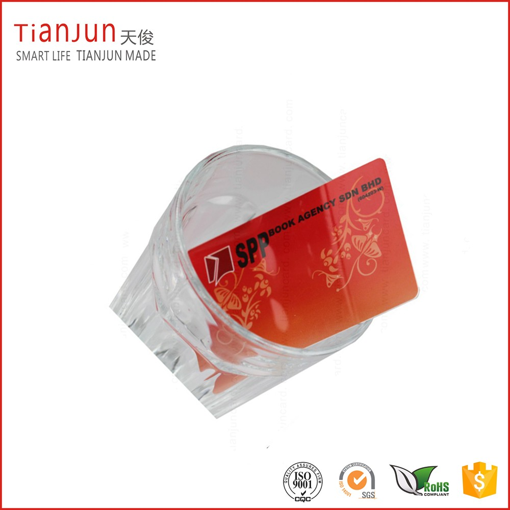 Printing PVC Business Clear Card