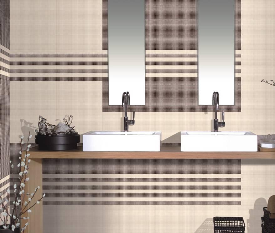 Ceramic Glaze Highlighter Light Dark Bathroom Concept Series Wall Floor Tiles W600x300mm