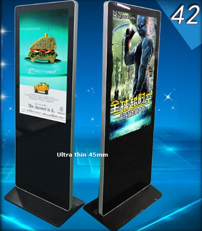 43 Inches 50 inch 55 inch 65 inch shopping mall advertising touch screen kiosk