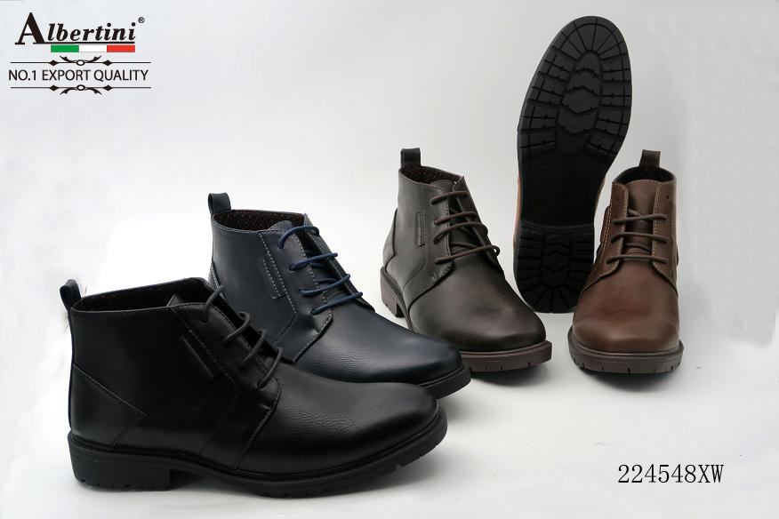 Best selling european style men boots made in china