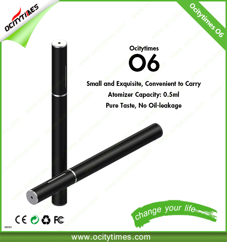 Ocitytimes O6 OEM vape pen 510 oil Vaporizer Pen Co2 Oil Cartridges Cbd Vap pen
