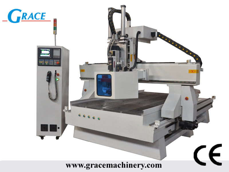 automatic tool change ATC cnc router machine 1530