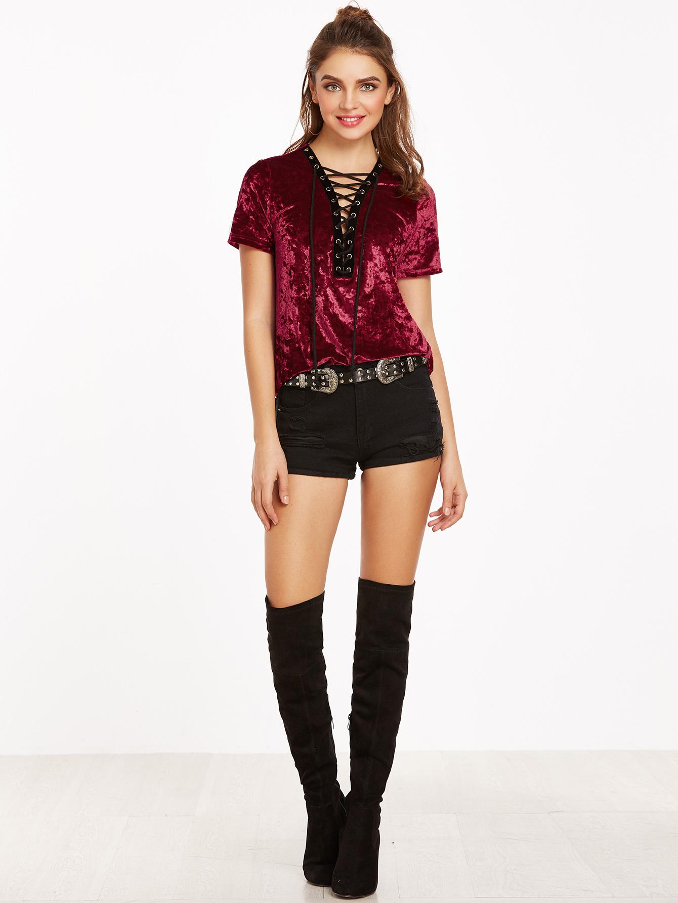 wholesale custom latest designs short sleeve t-shirt for women