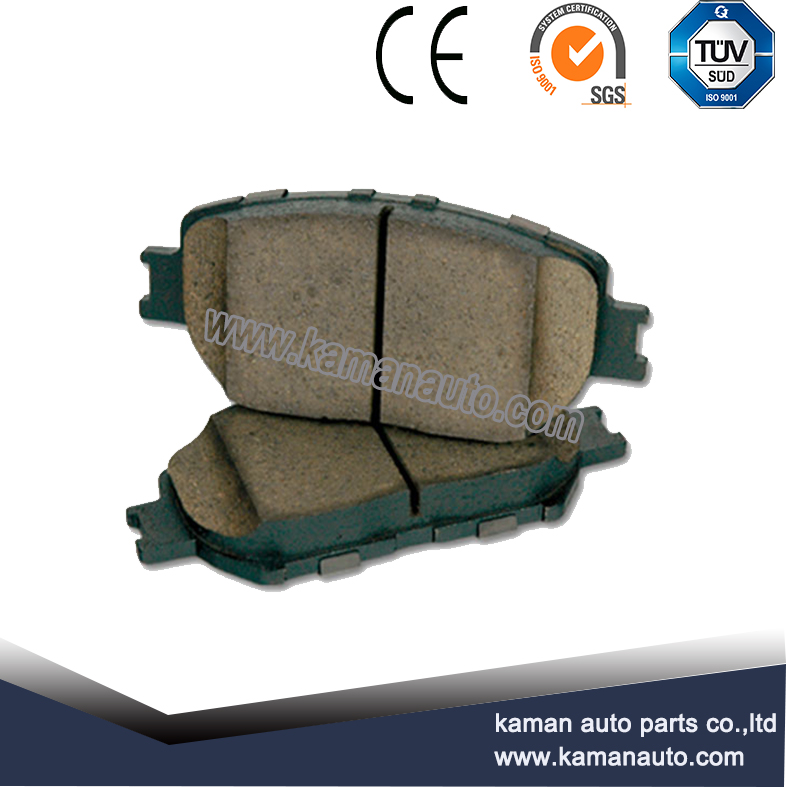Replacement disc brake pads with certification TS16949
