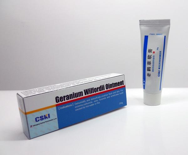 Eczema Treament (Geranium Wilfordii Ointment)