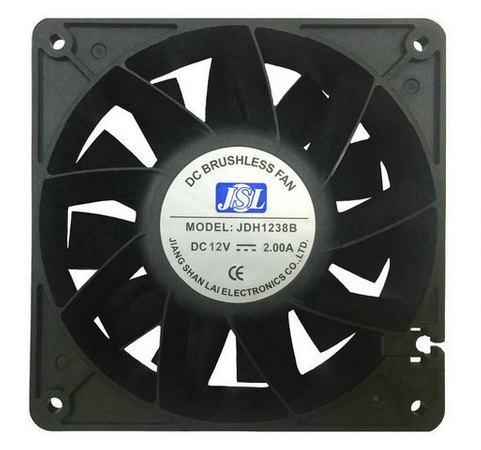 Manufacturers supply JDH12038B 12 - 24V server cooling fan