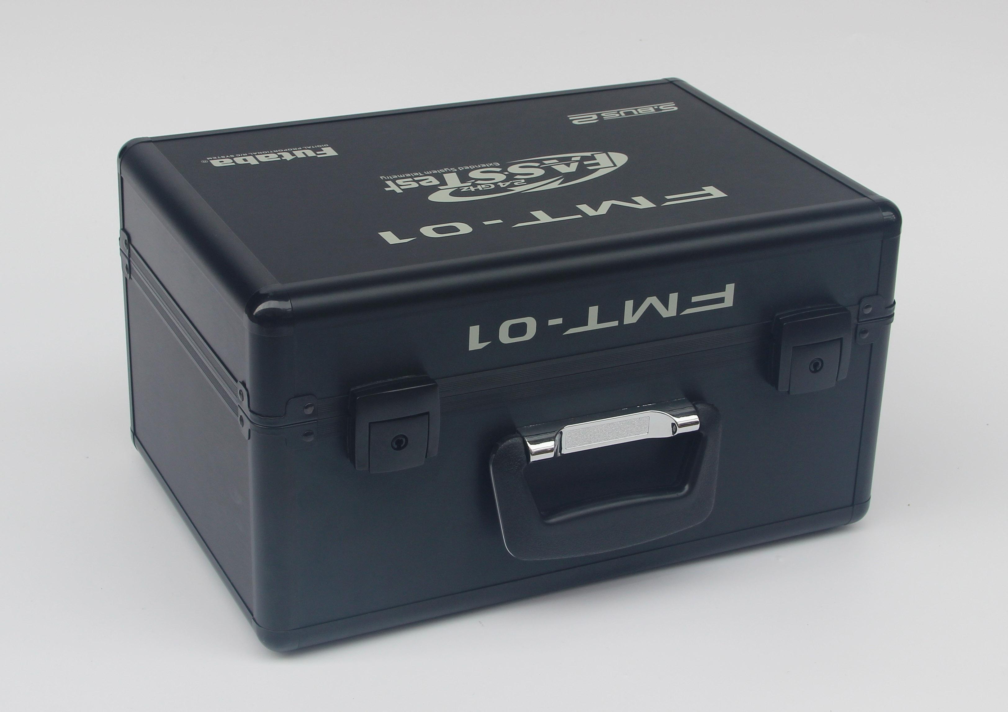 Black 2.4GHZ Aluminum RC Storage Carry Case